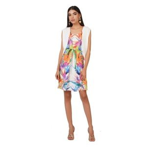 ANTHROPOLOGIE Printed Dress by Ranna Gill
